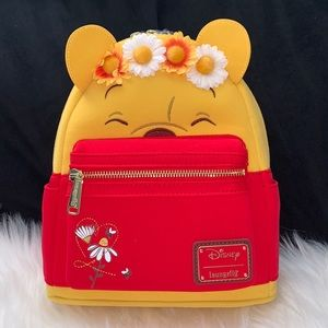 - Loungefly Winnie The Pooh Floral Crown Bac…